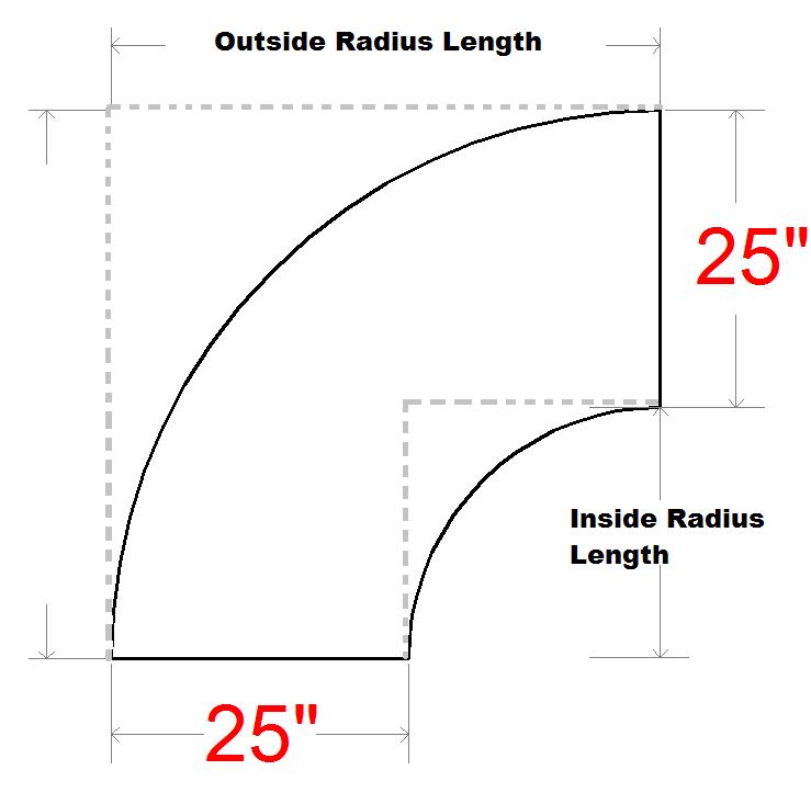 Diagram of Crescent L Shape